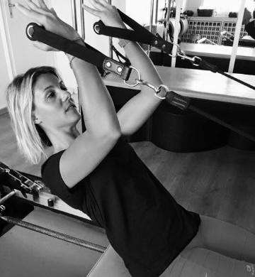 Violaine Pilates teacher and owner