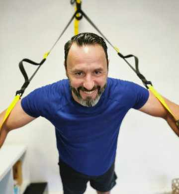 Geoffroy personal trainer and functional training teacher